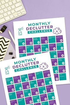 Declutter Challenge - Free Printable - Juggling Act Mama Activity Sheets For Kids, Printable Activities For Kids, Free Printables, As You Like, Just For You, Organization Hacks, Organizing Ideas, Feeling Overwhelmed, Decluttering