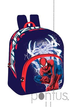 Mochila Spiderman 30x25x11cm   JB