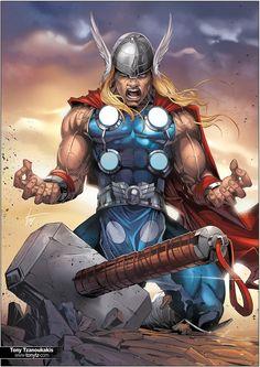 Unworthy Thor by tony-tzanoukakis