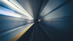 Toronto Subway Tunnel at the Speed of Light | John Cavacas Photography