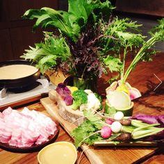 畑の野菜鍋×バーニャカウダ