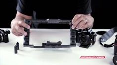 P GearBox DSLR Cage Video Accessory Bracket, via YouTube.