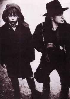 U2 - Bono avec Peter Rowen -1983
