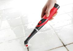 """Promising Review: """"My husband and I bought this today. We were looking for a brush to clean tile grout and my husband saw this. We decided to buy it. I tried it today. What a great product. No scrubbing involved and the grout came out beautiful. I love this scrubber!"""" —recently retiredGet it from Target for $20."""