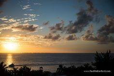 Isla Mujeres Mexico Photo sunset by Paul Retherford Wedding Photography