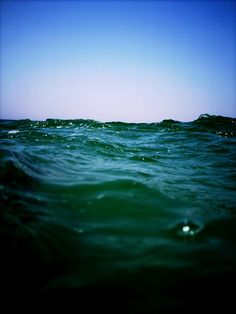 Somewhere in the beautiful water