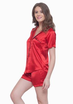 Faballey satin pyajamas