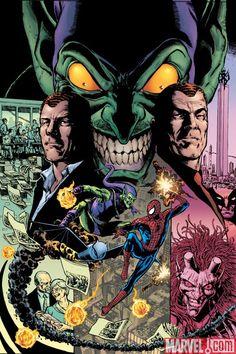 The Amazing Spider-Man # 595 Marvel Comics Vol 1 Comic Book Characters, Comic Book Heroes, Comic Character, Comic Books Art, Book Art, Marvel Comics, Marvel Villains, Marvel Heroes, Marvel Dc