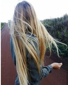I wish my hair was this long ):