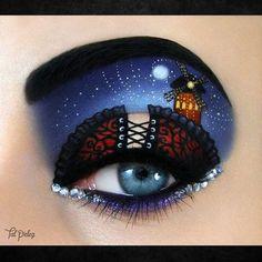 Фантастический и потрясающий макияж глаз (47 фото)