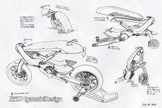 Motorcycle robot.