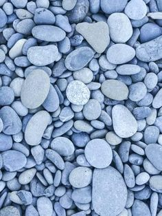 Photographic Print: Rocks and Pebbles at Rialto Beach, Olympic National Park, Clallam County, Washington, USA by Christian Heeb : Light Blue Aesthetic, Blue Aesthetic Pastel, Gray Aesthetic, Aesthetic Images, Aesthetic Backgrounds, Blue Wallpaper Iphone, Blue Wallpapers, Photo Bleu, Rialto Beach