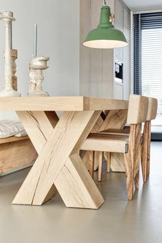 wooden dining table solid wood design