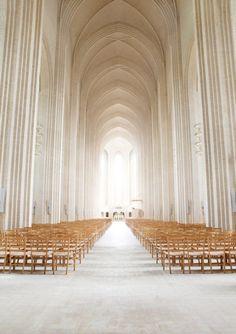 Grundtvig's church in Denmark