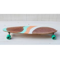 Handcrafted Cherry Longboard 'ALOHA' by PNWmaker on Etsy. Visit my website at http://www.thebestlongboards.net/