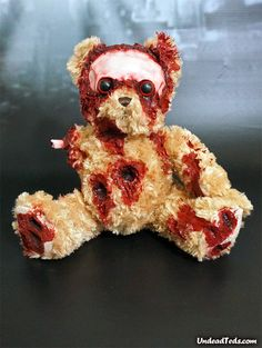 Undead Teddy by Phillip Blackman