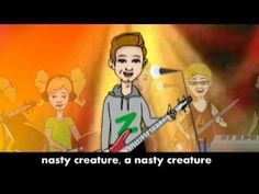 Here's a video of a fun rock band singing about adjectives. At around 1:10, the singer gives examples of particular adjectives.