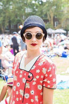 Jazz Age Accessories: 1920s Hats + Sun Shades