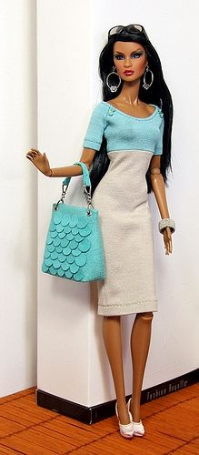 dress and matching bag | Flickr - Photo Sharing!