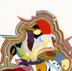 Carrie Marill bird art
