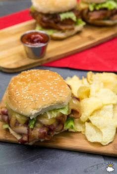 Bacon Weave Burgers