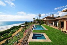 Modern Spanish Hacienda Style Style Homes With Contemporary Swimming Pool And Beach House Design