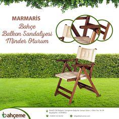 Outdoor Chairs, Outdoor Furniture, Outdoor Decor, Marmaris, Home Decor, Homemade Home Decor, Interior Design, Home Interiors, Decoration Home