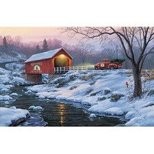 'Holiday Traditions' by Darrell Bush Painting Print