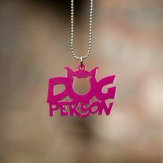 DOG Person (pembe)