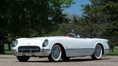 1954 Chevrolet Corvette Roadster 235 CI, Automatic presented as lot S107 at Denver, CO