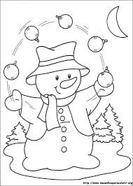 Resultado de imagem para risco para   pintura em tecido boneco de neve