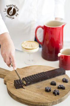 Tabletas de Chocolate de Mousse de Turrón de Jijona