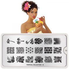 Tropical Nail Art Design 12