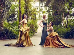 The ladies of Downton Abbey, Vogue UK Fall 2011. Jason Bell Photography.