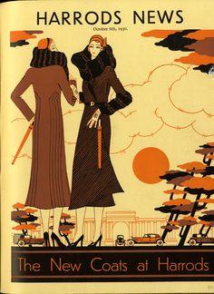 Harrods News 1930- 1960 Cover