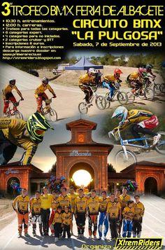 Xtrem Riders: Tercer Trofeo de BMX Feria de Albacete 2013.