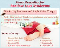 Restless Leg Syndrome can be very irritating and makes getting a good night's sleep very difficult...