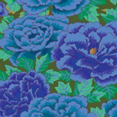 Rowan – Collective Limited Edition by Kaffe Fassett – Chrysanthemums in Cobalt