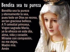 Our Lady of Fatima, pray for us! Catholic Prayers, Catholic Quotes, Spanish Prayers, Lady Of Fatima, Mama Mary, Catholic Religion, Holy Rosary, Blessed Mother Mary, Spiritus