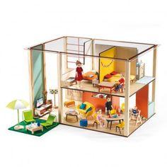 Puppenhaus Cubic house  Djeco