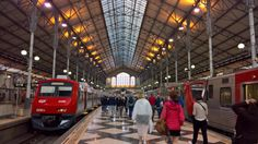 Trains are the way to go in Portugal-cheap, fast, safe and convenient.