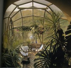 This is the vacation house of architect Claus Bonderup, in Jutland • from the inside: the conversation room. • I LOVE IT!!