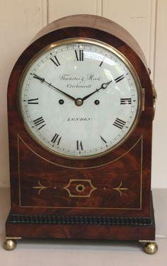 Regency Arch Top Mahogany Bracket Clock (c. 1820 London)