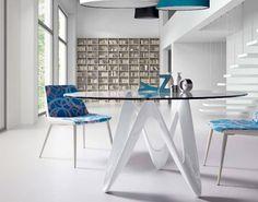 mesa madera redonda extensible pool Mesas de comedor, Muebles de ...