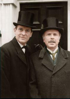 Jeremy Brett Sherlock Holmes, Watson Sherlock, Granada, Detective, Sherlock Holmes Stories, Adventures Of Sherlock Holmes, Holmes Movie, Elementary My Dear Watson, Lillian Gish