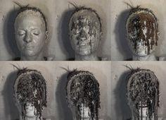 Gaetano Costa wax dripping - colatura n°4