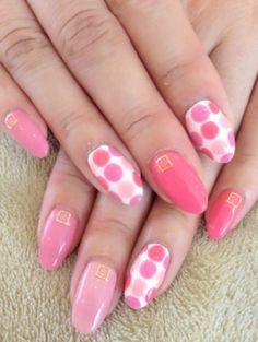 Uñas rosadas Nails