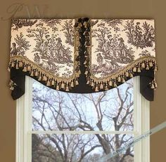 Unique Window Treatment Ideas Board Mounted Valance Tela Shabby Chic