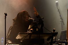 Blackwald - Twilight Force ⚫ Photo from Byscenen FB page⚫ Trondheim 2016 ⚫ #TwilightForce #music #metal #concert #gig #show #musician #Blackwald #cape #keyboard #mage #microphone #armour #armor #bracers #beard #hood #playing #coat #earrings #show #photo #fantasy #magic #cosplay #larp #man #onstage #live #celebrity #band #artist #performing #Sweden #Swedish #Trondheim #Byscenen