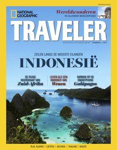National Geographic Traveler voert de lezer mee naar de mooiste plekken op aarde, en inspireert door op boeiende wijze verslag te doen van exotische plekken en bijzondere steden. Op ipad en android tablets te lezen via de BrunaTablisto-app.